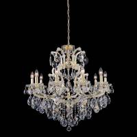 Люстра Crystal Lux ISABEL SP11 GOLD/TRANSPARENT